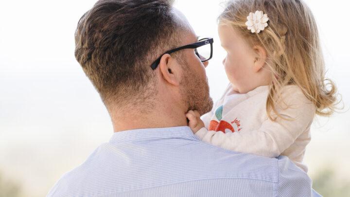 Martin Noack mit Tochter